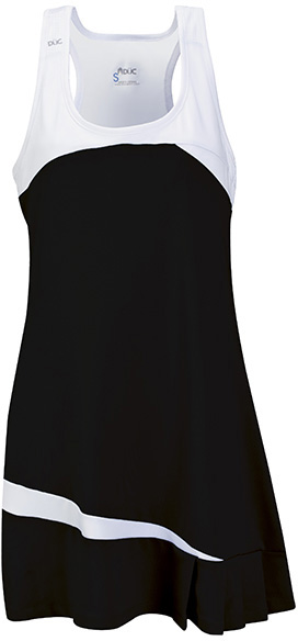 DUC Fire Women's Tennis Dress (Black)