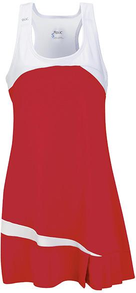 DUC Fire Women's Tennis Dress (Red)