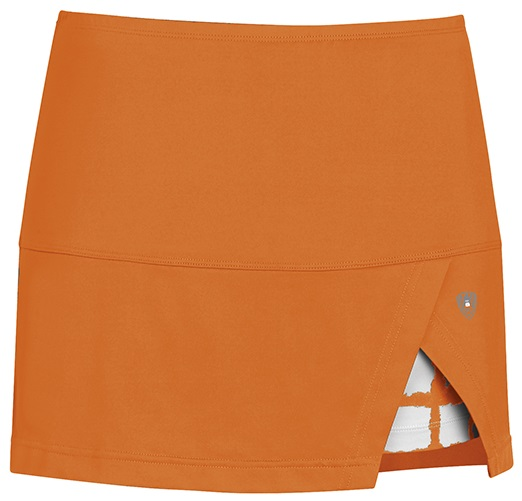 DUC Peek-A-Boo Women's Power Skirt (Orange/ White)