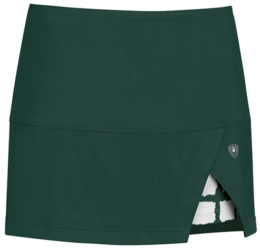 DUC Peek-A-Boo Women's Power Skirt (Pine/ White)