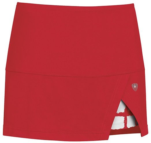DUC Peek-A-Boo Women's Power Skirt (Red/ White)