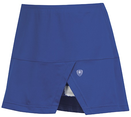 DUC Peek-A-Boo Women's Power Skirt (Royal/ White)