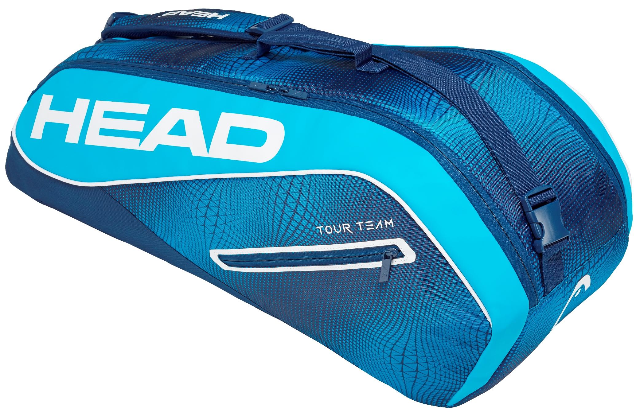 Head Tennis Bag >> Head Tour Team 6r Combi Tennis Bag Navy Blue 69 95