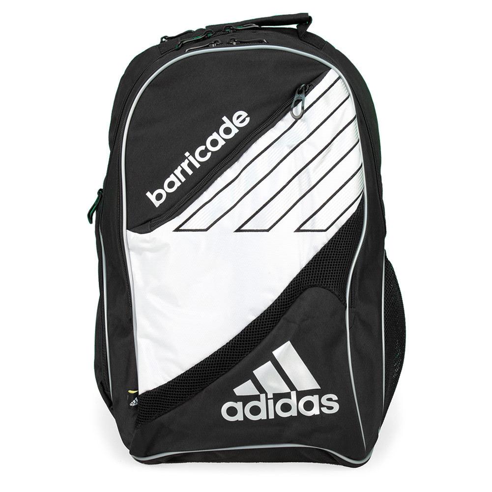 a524c30dec81 Adidas Barricade III Tour Racquet Backpack (Black  White)
