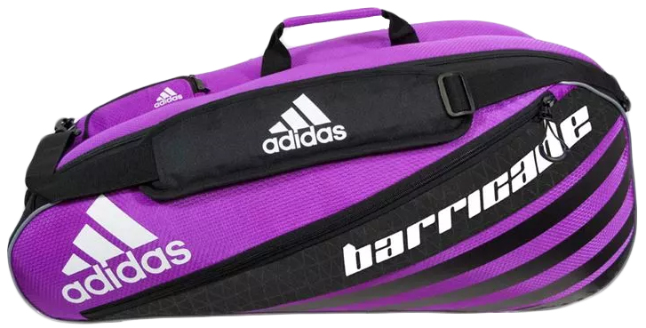 Adidas Barricade IV 6 Pack Tennis Bag (Pink/ Black/ White ...