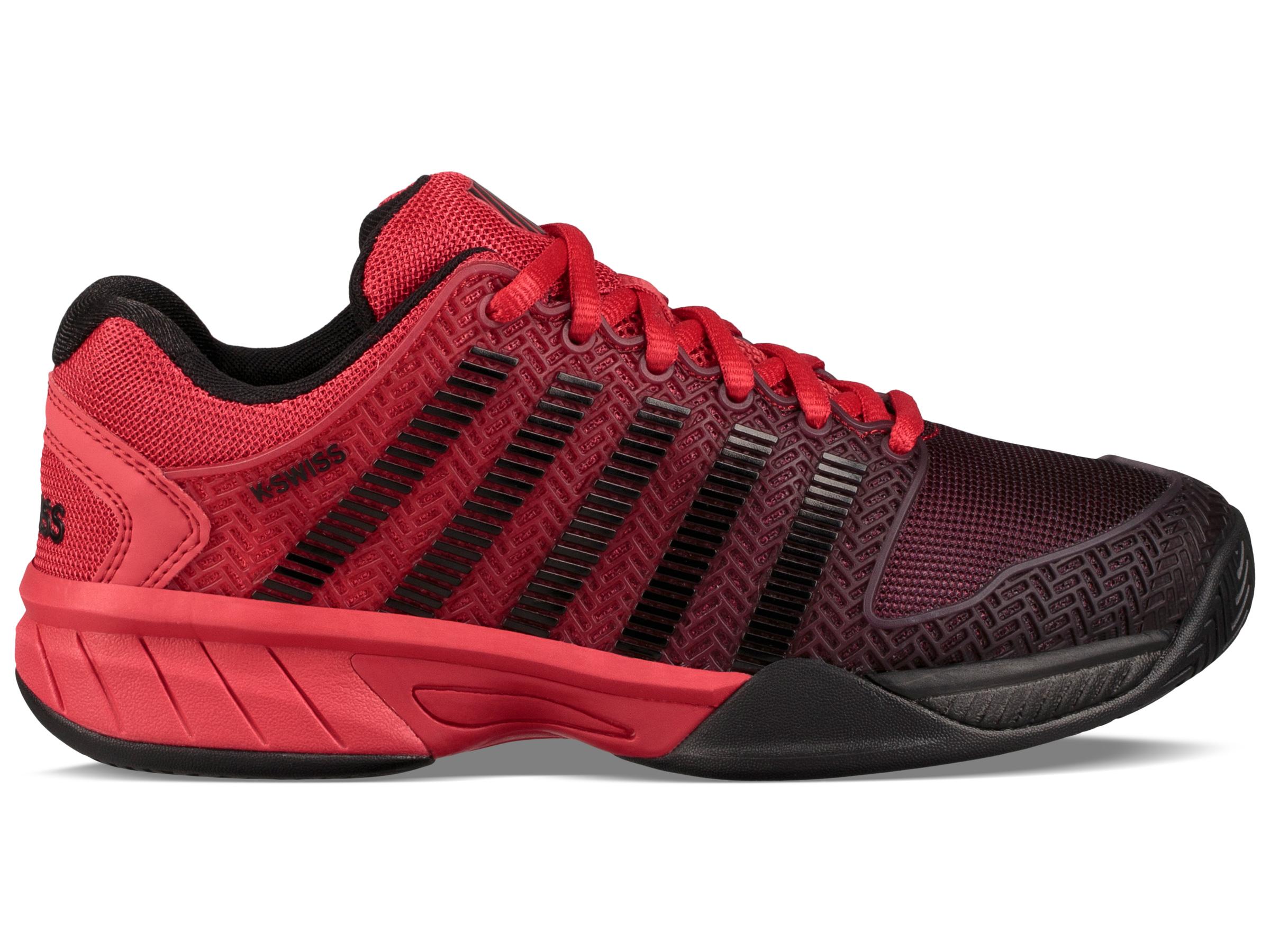 24bf7d99de635 K-Swiss Junior Hypercourt Express Tennis Shoe (Lollipop/Black) $69.95