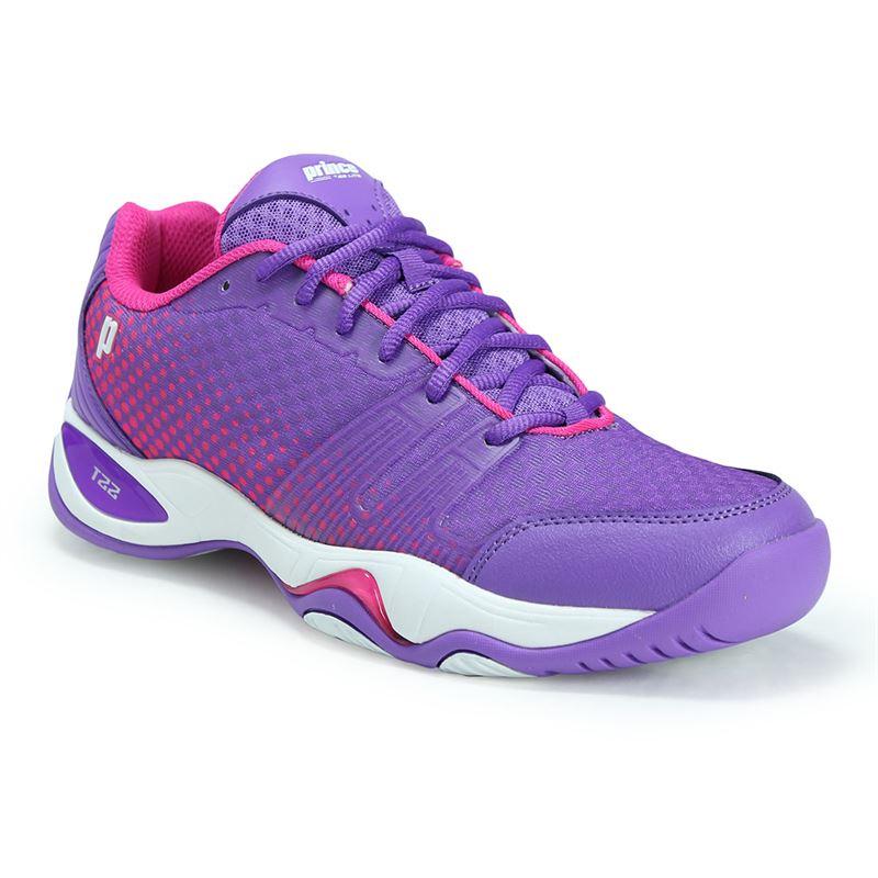 Prince Women's T22 Lite Tennis Shoes (Purple/Pink)
