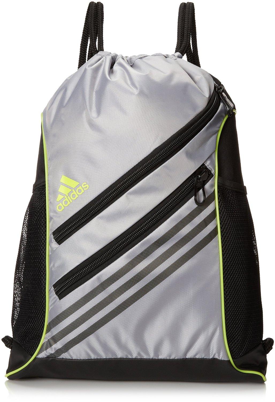 c82e954abf62da adidas Strength Sackpack (Mid Grey Semi Solar Yellow) from Do It Tennis