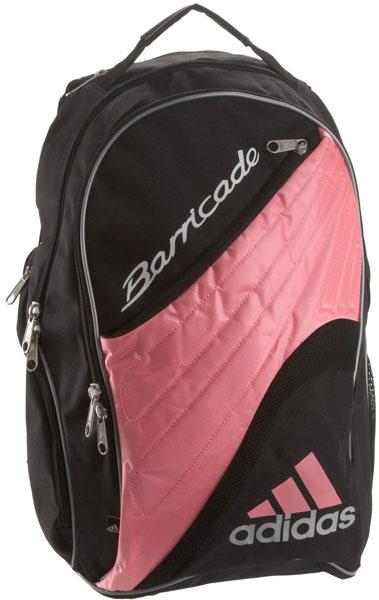 7609203b998c Adidas Barricade II Racquet Backpack (Pnk  Wht)