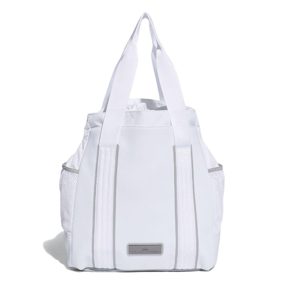 c9fe828d270f Adidas by Stella McCartney Women s Tennis Bag (White Mid Grey Gun Metal)