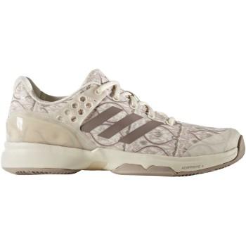 Adidas Women's Adizero Ubersonic 2 Art Nouveau Tennis Shoe (Chalk White)