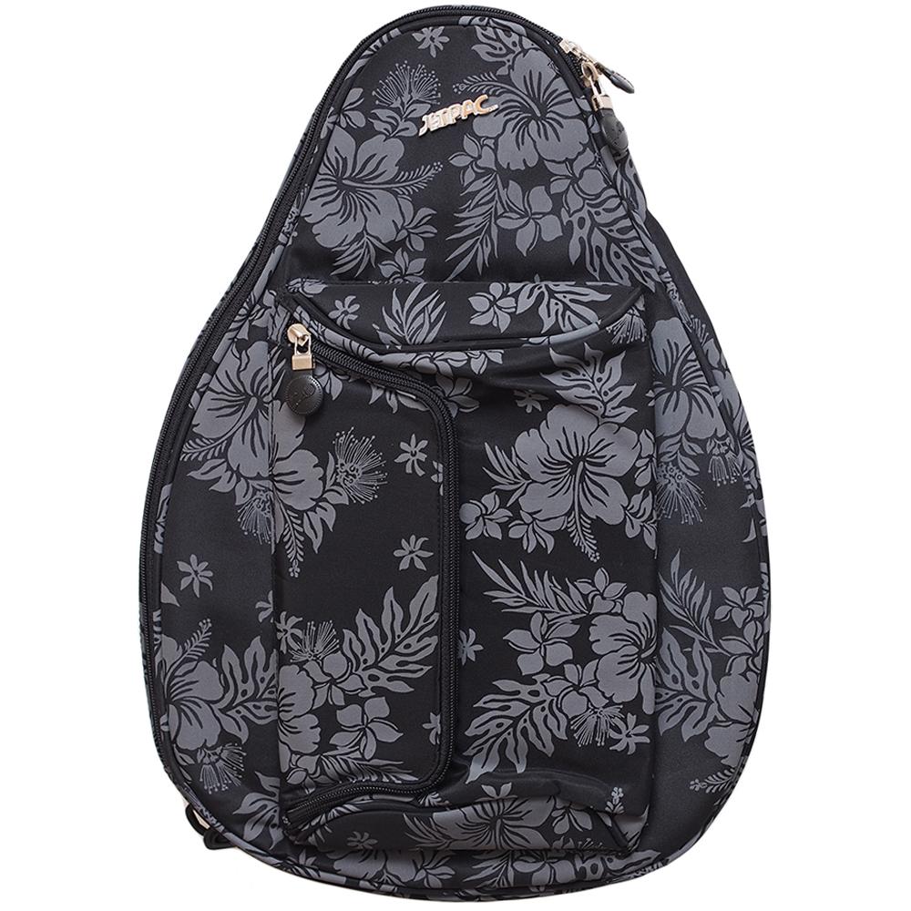Jet Black Hawaiian Mini Backpack