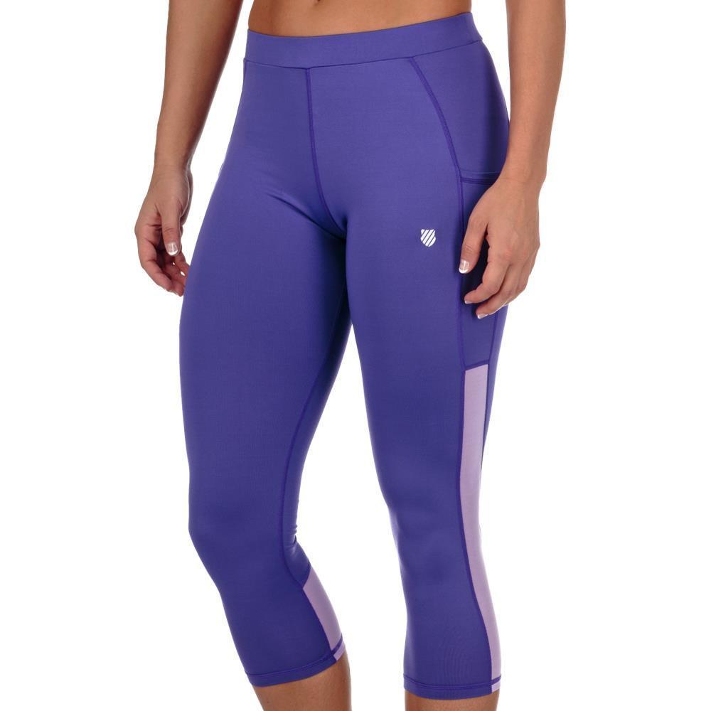K-Swiss Women's Capri Tennis Pants (Purple/Lilac)