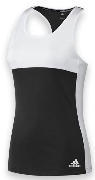 Adidas Women's T16 Team Tank (Black/ White)