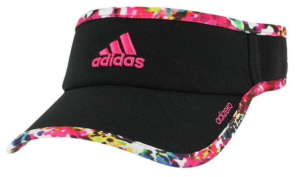 6ceef49e $14.99 More Details · Adidas Women's Adizero II Visor (Black/Floral/ ...