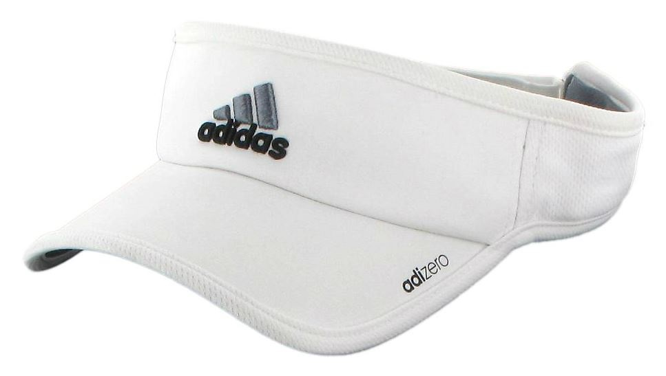 SKU-5127649 Adidas Men s Adizero II Visor (White  Black  Grey) from ... f33306ecd60b