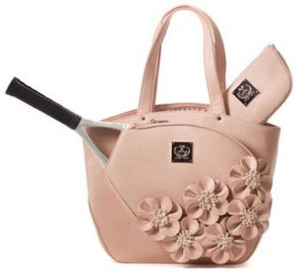 court couture cassanova tennis bag dusty rose from do it tennis. Black Bedroom Furniture Sets. Home Design Ideas