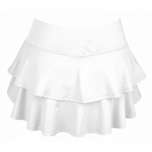 DUC Belle Women's Tennis Skirt (White)