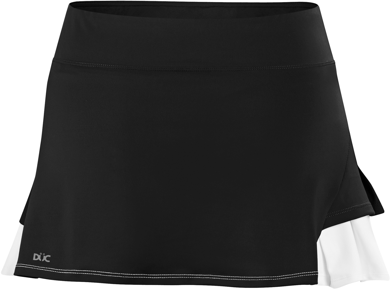 DUC Flirt Women's Tennis Skirt (Black)