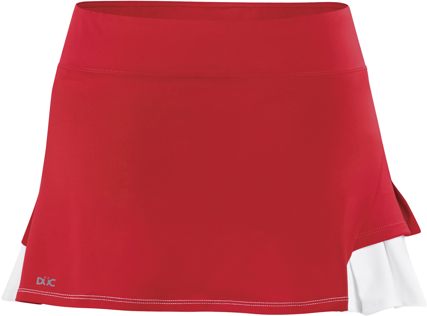 DUC Flirt Women's Tennis Skirt (Red)