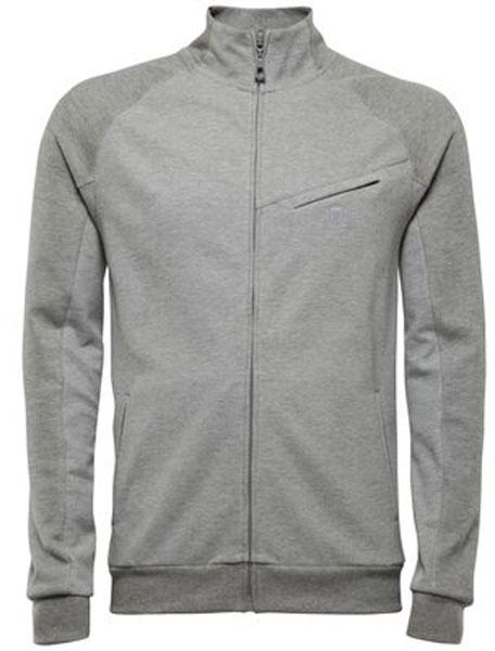 K-Swiss Men's Asym Pocket Tracktop (Grey)
