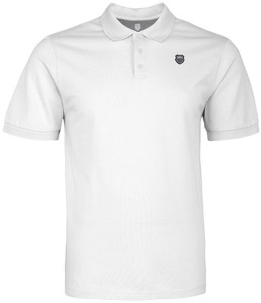 K-Swiss Men's Classic Polo (White)