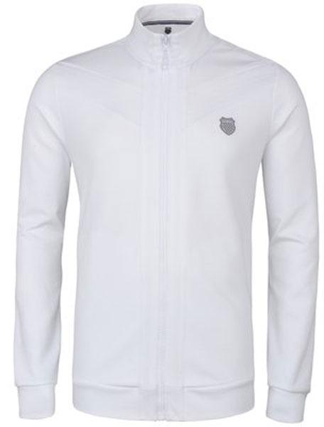 K-Swiss Men's Stitched Tracktop (White)