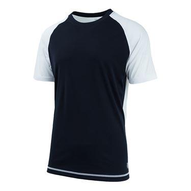K-Swiss Men's Backcourt Tennis Crew (White/Black)