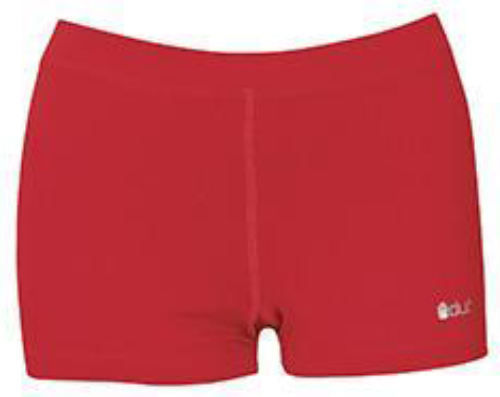 DUC Floater 2.5 Women's Compression Shorts (Red)