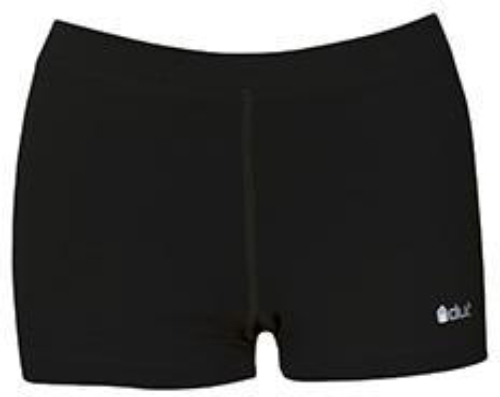 DUC Floater 2.5 Women's Compression Shorts (Black)