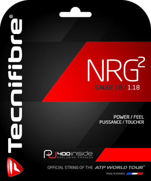 Tecnifibre NRG2 18g Tennis String (Set)