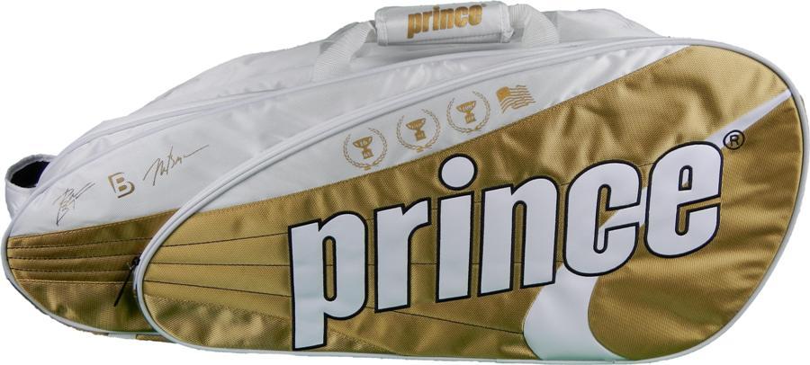 Prince Tour Team 12 Pack Tennis Bag Bryan Bros. Edition (White  Gold) a3b1c53a0f790