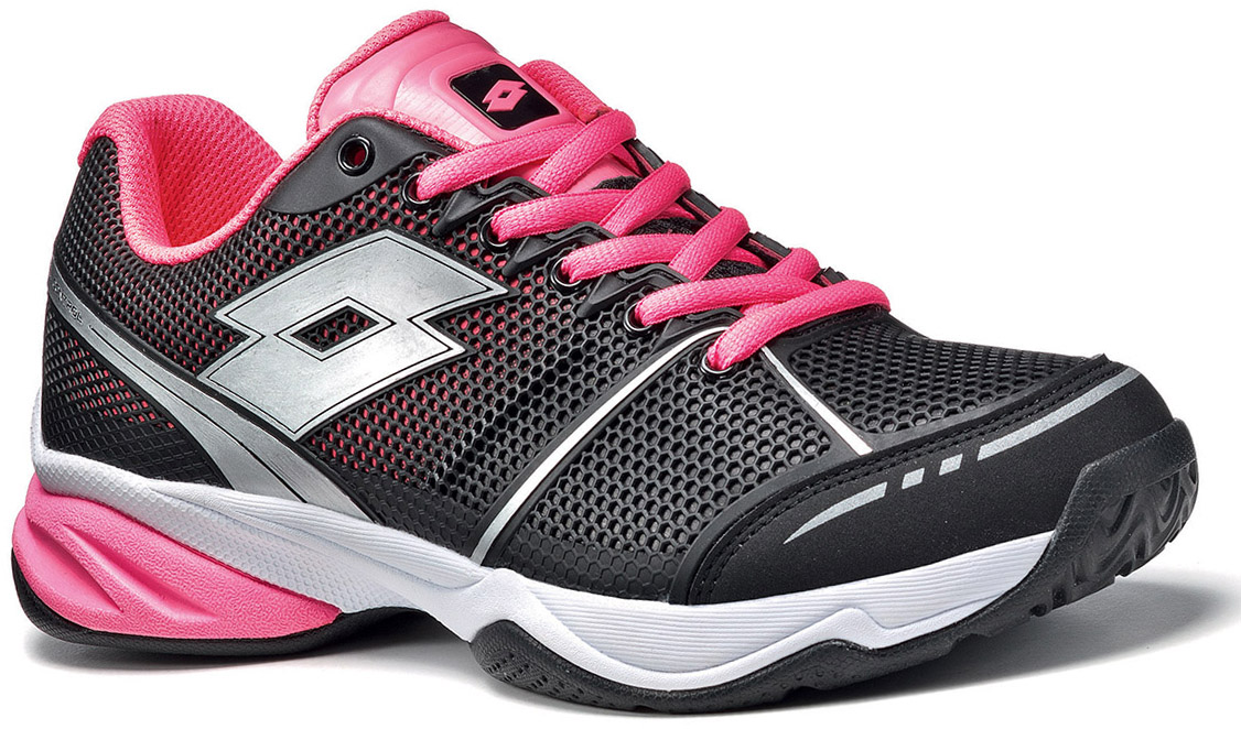 lotto s viper ultra tennis shoes black pink from