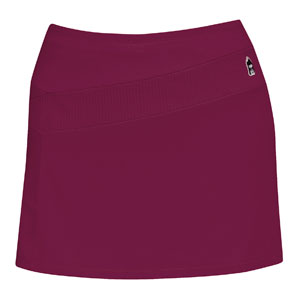 DUC React Women's Tennis Skirt (Maroon)