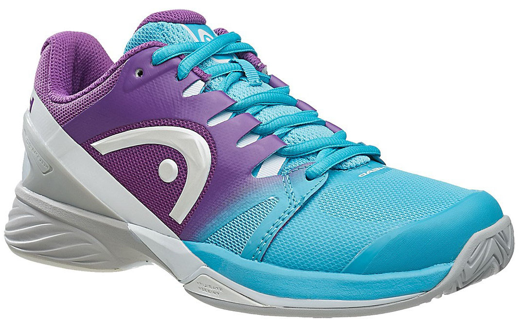Head Women's Nitro Pro Tennis Shoes (Aqua/Violet)
