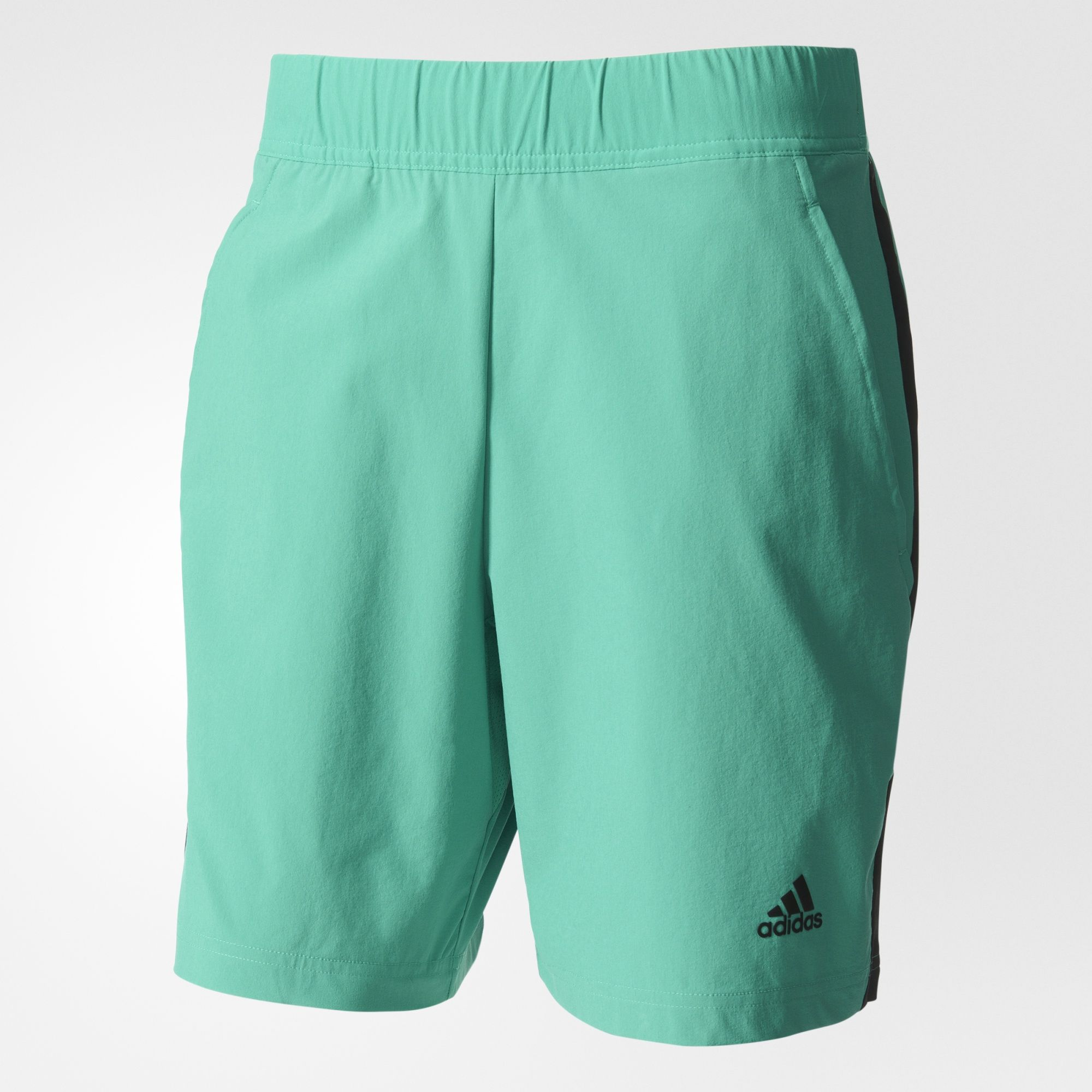 5dde5e8f026 Adidas Men's Roland Garros Tennis Shorts (Core Green/Black) $55.00