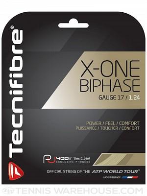 Tecnifibre X-One Biphase String 17g Tennis String (Set)