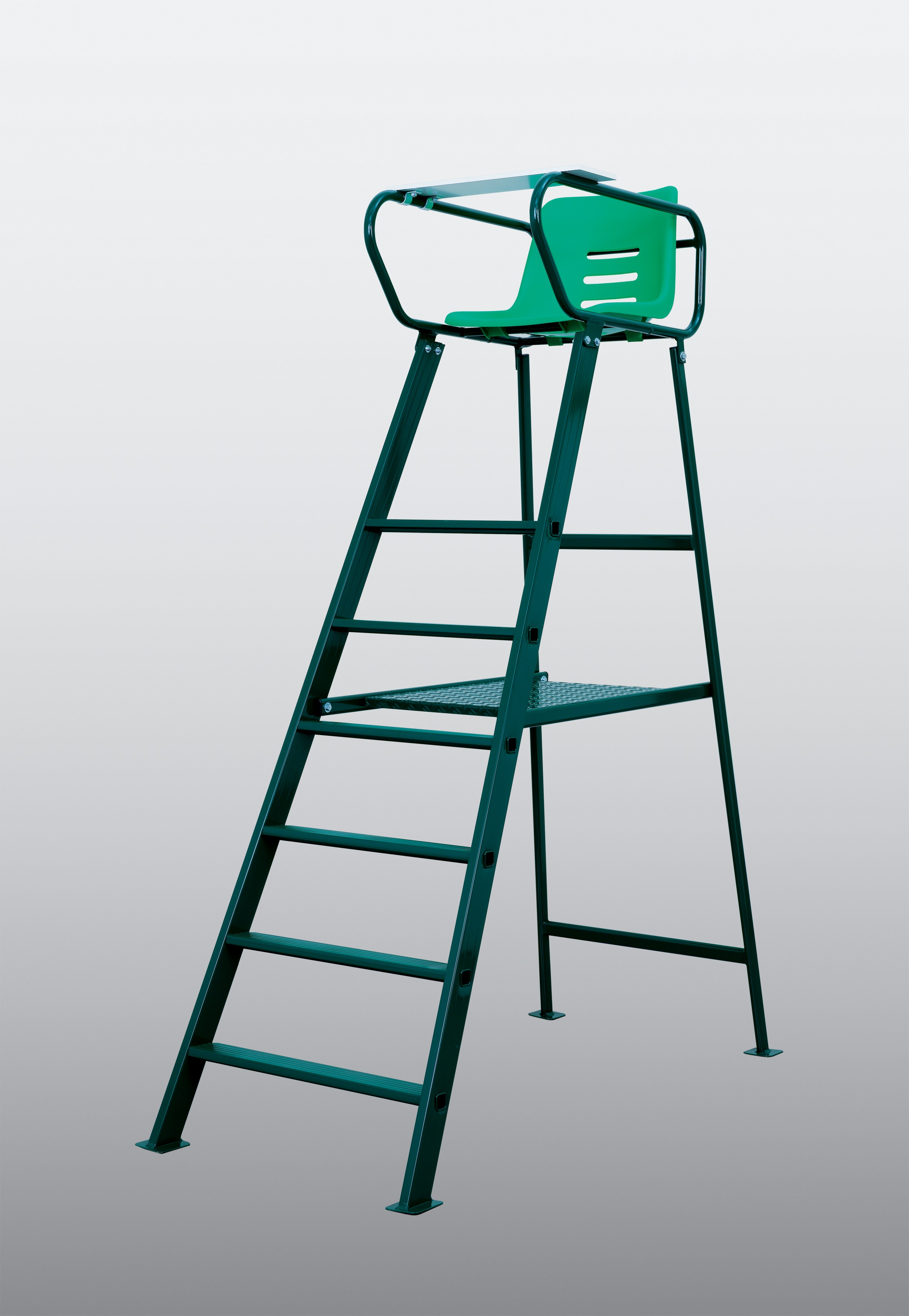 Wilson Pro Staff >> Royale Umpire Chair with Desk - Do It Tennis