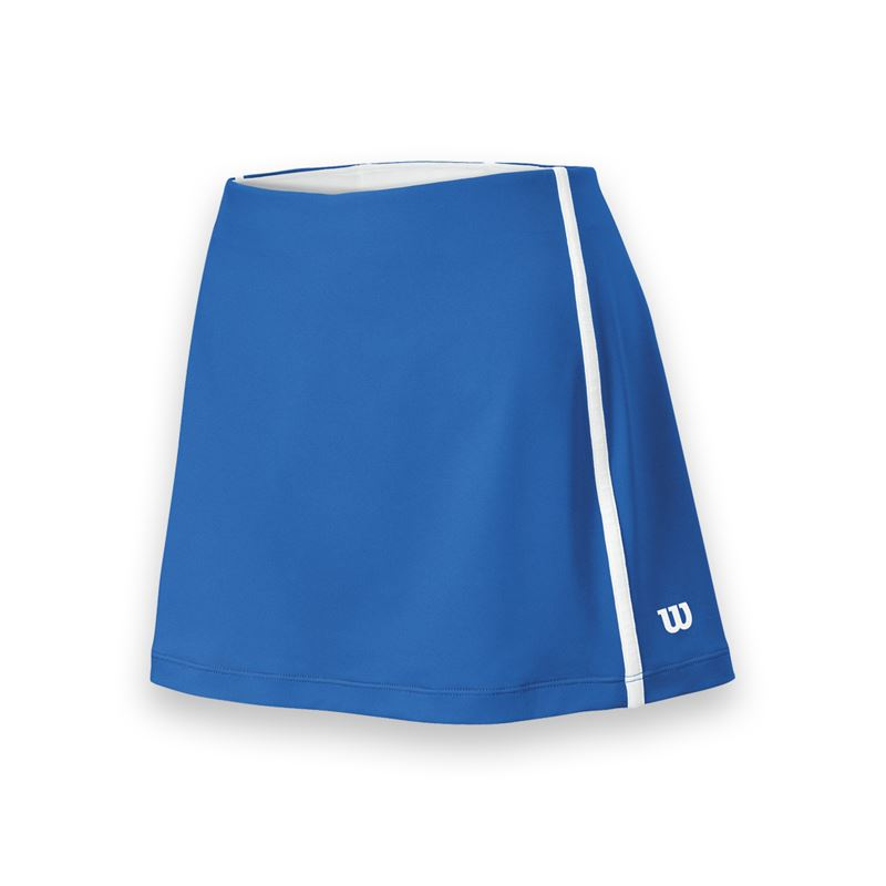 Wilson Women's Team Tennis Skirt (Blue/White)