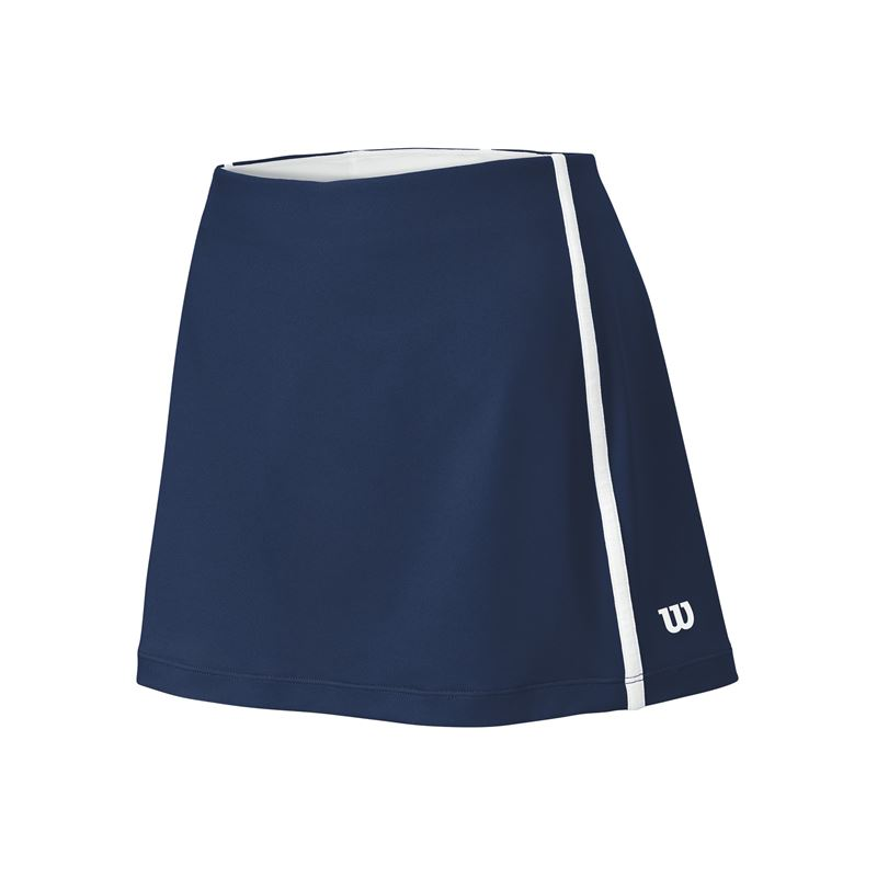 Wilson Women's Team Tennis Skirt (Navy/White)