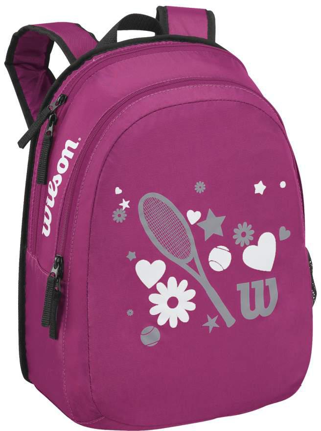 Tennis Racquet Sale >> Wilson Junior Match Tennis Backpack (Pink) from Do It Tennis