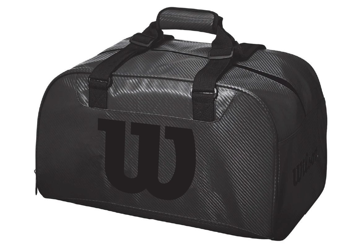 ef2c7699adff Wilson Black Duffle Bag - Do It Tennis