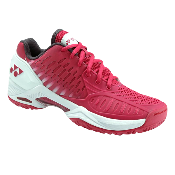 Yonex Women's Power Cushion Eclipsion Tennis Shoe (Dark Pink)
