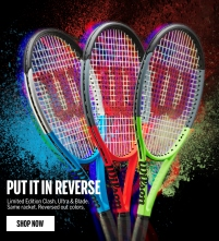 Wilson Limited Edition Burn and Blade Reverse Racquets