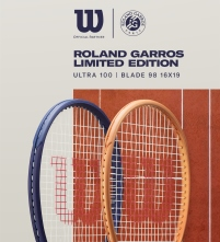 Wilson Roland Garros Limited Edition Tennis Racquet Bag Balls