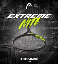 Head Extreme Nite Tennis Racquet and Bag Collection